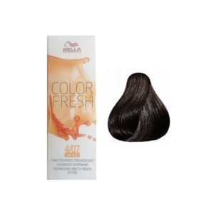 Wella Color Fresh 4/07 Medium Natural Brunette Brown 75ml